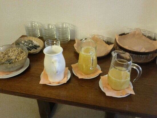 Hotel Garni Schlossblick: colazione