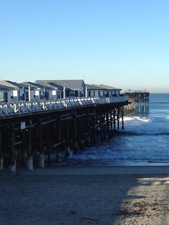 Crystal Pier Hotel & Cottages: what a view