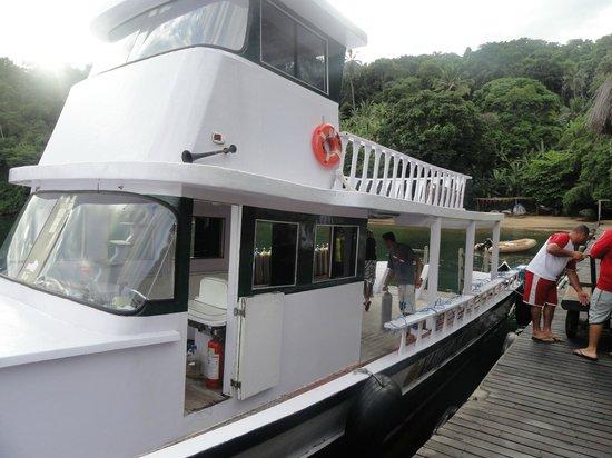 Pousada Nautilus: barco
