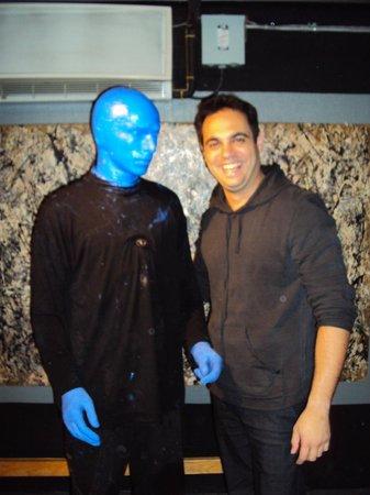 Blue Man Group: Eu e o Blue Man