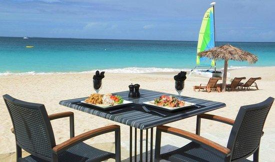 Carimar Beach Club: World Class Dining on Meads Bay Beach