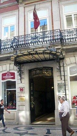 Grande Hotel Do Porto: Puerta de ingreso Art Decó