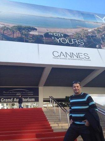 Palais des Festivals et des Congres of Cannes: Karim ouyahia festival de cannes
