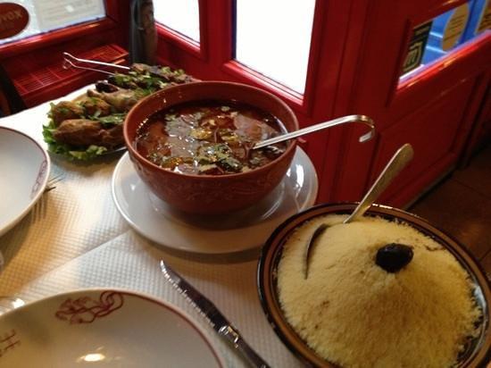 Le Berbere: couscous Berbère au restaurant Le Berbère à Rouen