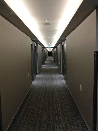 Radisson Blu Waterfront Hotel: corridor