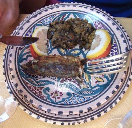 Le Darkoum : Splendido antipasto di pesce e verdura