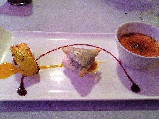 Purple Poppadom: Chefs Dessert Selection