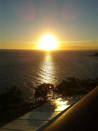 Bahia Othon Palace : Vista do por do sol do quarto 625