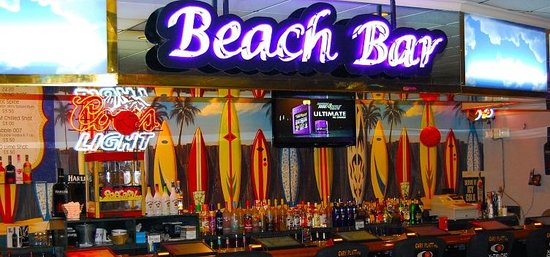 Diamonds Casino: The Beach Bar has great daily specials