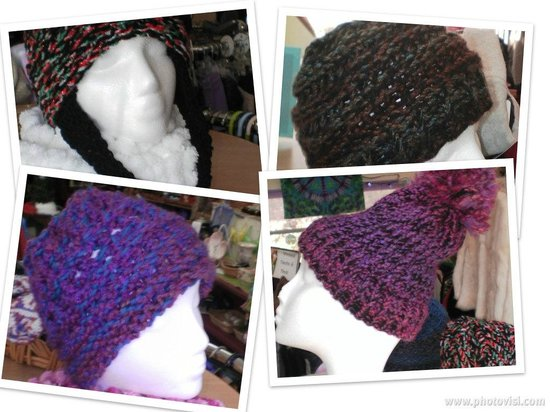 Clothespins Consignment Boutique : Handmade Knit Hats