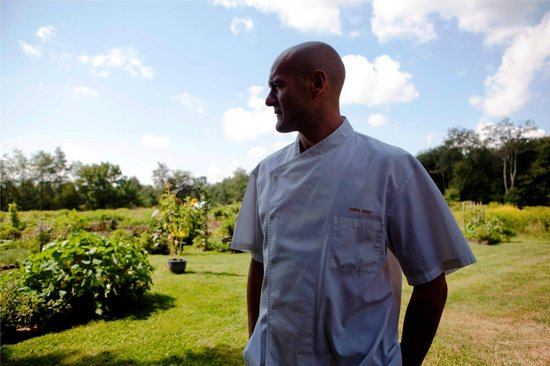 Winvian: Executive Chef Eddy in the Organic, Sustainable Garden