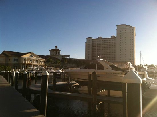 The Westin Cape Coral Resort At Marina Village: Marina with the hotel in the background