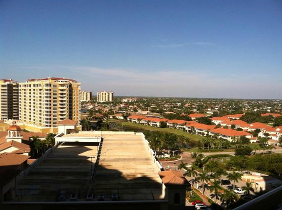The Westin Cape Coral Resort At Marina Village: View from entryway of front door -- condos as far as you can see