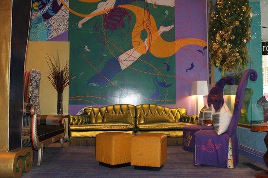 Hotel Triton: inside hotel