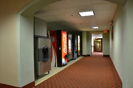Quality Inn & Suites Worcester: Vending Area