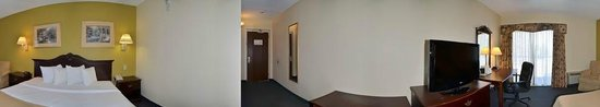 Quality Inn & Suites Worcester: Panoramic view of room