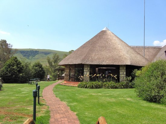 Montusi Mountain Lodge: Breakfast and lunch