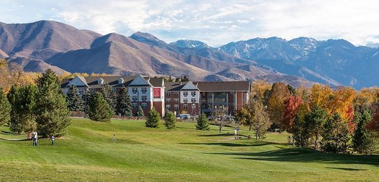 University Guest House & Conference Center: Wasatch Mountains and Guest House
