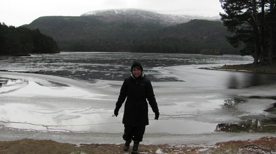 The Old Minister's House : Frozen lochs
