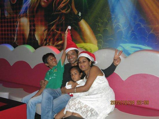 Calangute Grande: crismas party