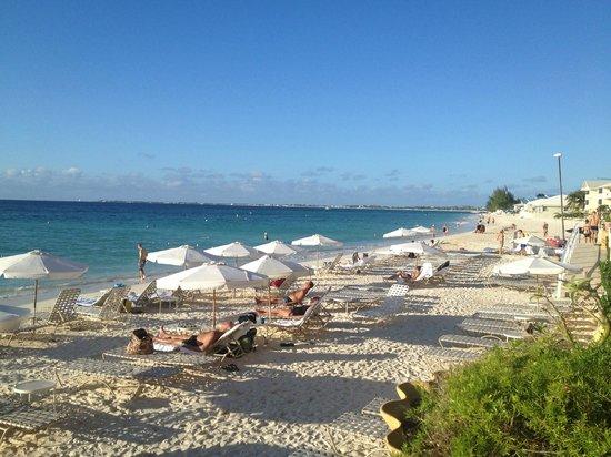 Grand Cayman Marriott Beach Resort: Plenty of beach facilities