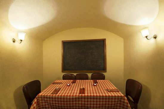 Le Troquet: Private room for 8 guests