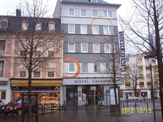 Inter-Hotel Salvator : front of hotel