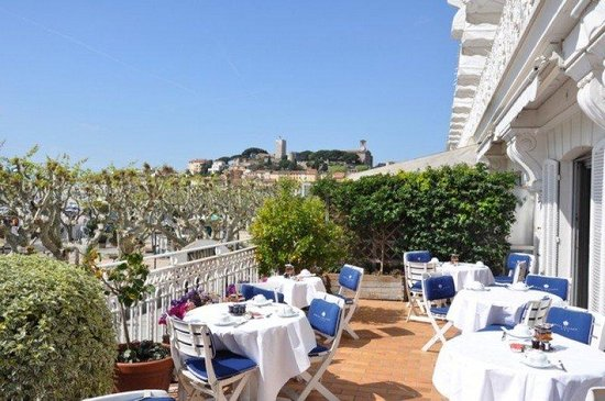 Hotel Splendid: terrace