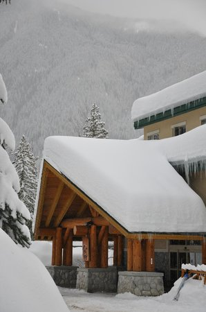 Coast Hillcrest Hotel: winter at the Hillcrest