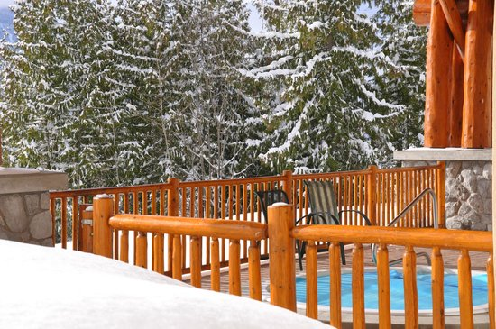 Coast Hillcrest Hotel: Out door hot tub