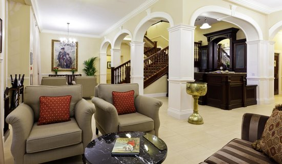 The Ugadale Hotel & Cottages: The Ugadale Hotel - Reception