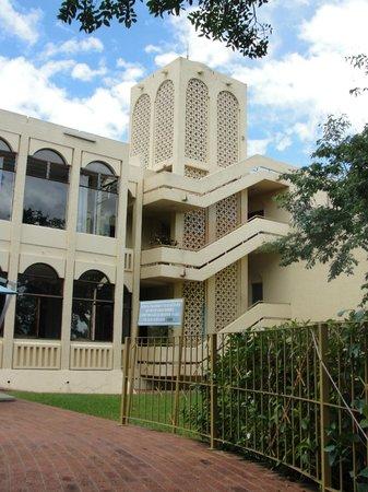 Rainbow Hotel Victoria Falls: Vista da piscina
