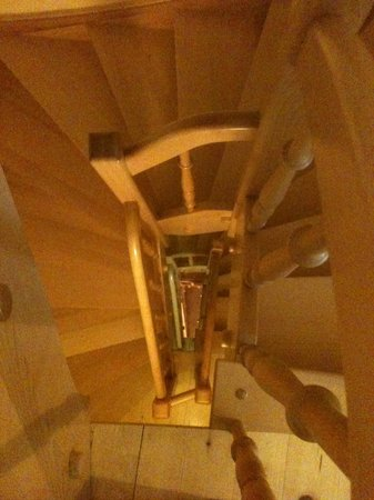 Apartments Bevk : Stairwell from the top