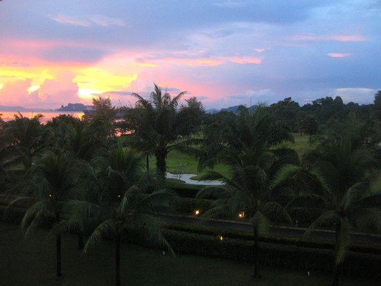 Sofitel Krabi Phokeethra Golf & Spa Resort: View from out hotel room