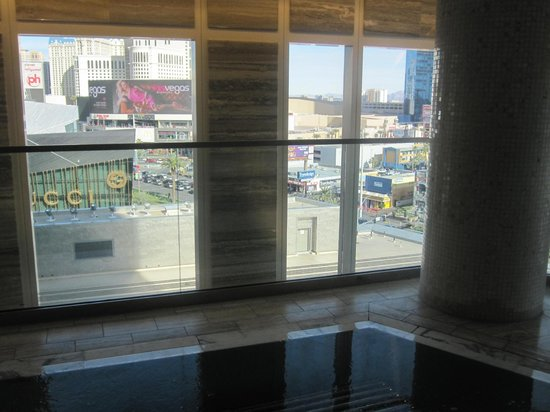 The Spa at Mandarin Oriental, Las Vegas : Another Strip view
