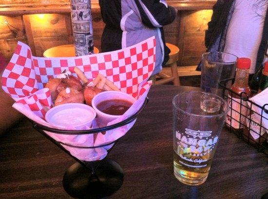Murray's Saloon & Eatery: Bacon & cream cheese shrimps