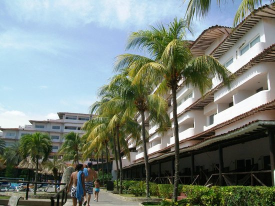 Isla Caribe Beach Hotel: Tropical Area