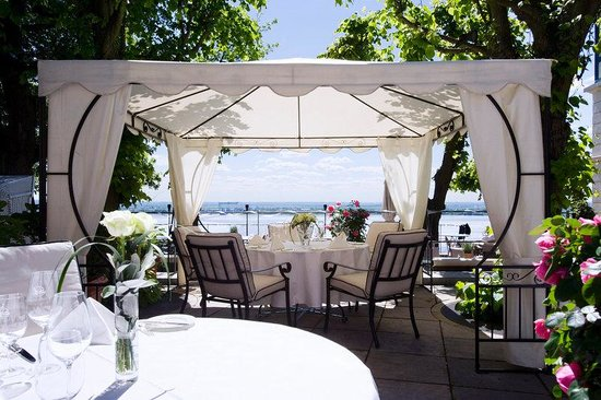 Süllberg Hotel: Terrace