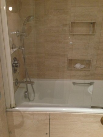 Hotel du Louvre: Shower/tub
