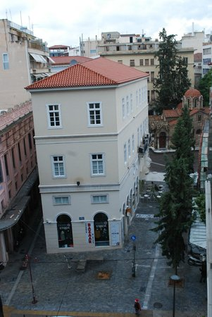Plaka Hotel: View from Room 401
