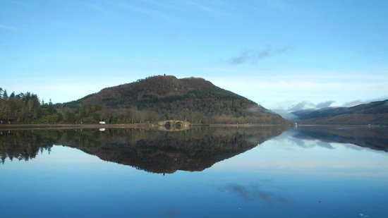 The Village Inn: Loch Awe from Inveraray.