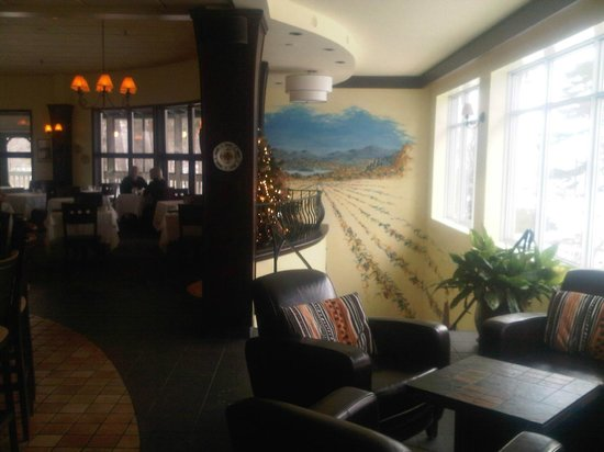 Hotel Suites Lac-Brome: Restaurant