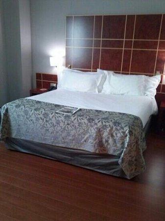 Silken Reino de Aragon Hotel: cama enorme!