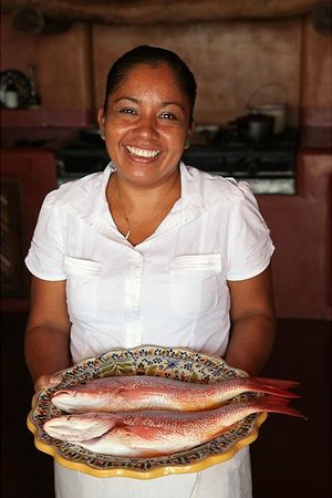Casa Cuitlateca: Fresh Red Snapper