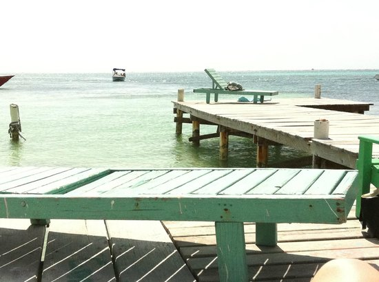 Mayan Princess Hotel : The dock right outside.