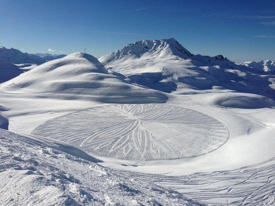 Hotel Club mmv Altitude Arc 2000: La montagne