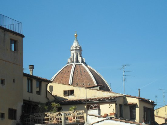 Hotel Cardinal of Florence: Cupola del Brunelleschi vista dalla camera