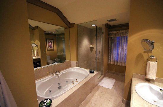 The Herrington Inn & Spa: Jacuzzi and shower - you bring the wine!