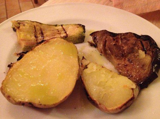 La Locanda del Postiglione: roasted vegies