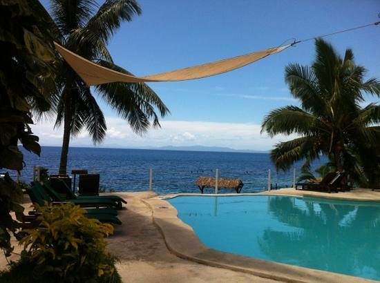 Paradise Taveuni: the horizon pool